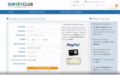 Survey Club Review- Scam or Legit?